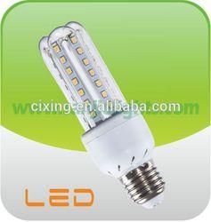 2013 Popular sale 3U 7W led saving energy lamp
