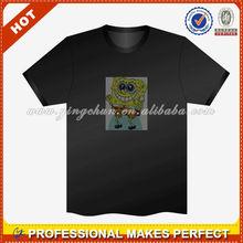 HOT fashion led t shirt wholesale(YCT-B0060)