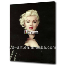 Decoration canvas art Marilyn Monroe painting