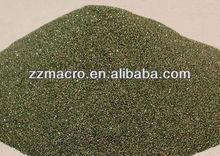 Black silicon carbide powder for abrasives
