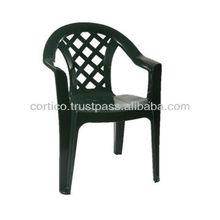 Arad low back plastic chair