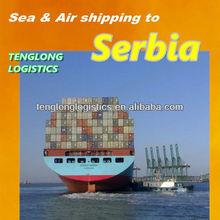 bulk cargo shipping to Belgrade of Serbia from Shenzhen Shanghai Hangzhou