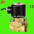 De cobre de la válvula solenoide( solenoide de la válvula 12v dc) 2 vías de agua de la válvula