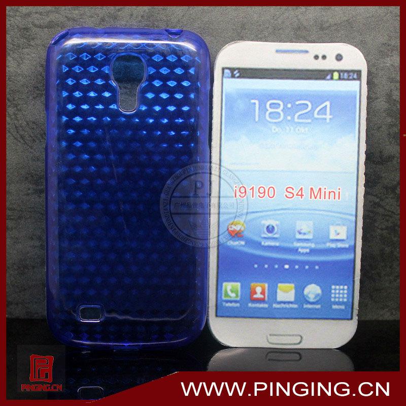 Diamond TPU case for samsung s4 mini i9190/i9192/i9195/i9198