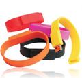 Portable bon marché bracelets usb flash drive avec le logo autocollant brassard stylos clé mémoire thumb touches.