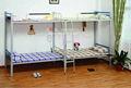 Blanco cama litera de metal para las niñas, de acero de la cama litera para las niñas
