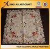 overlay tablecloths embroidered christmas table cloths
