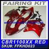 For HONDA cbr 1100xx 1997-2007 Motorcycle Fairings FFKHD023