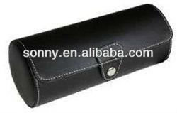 Custom fancy designer brand PU leather sunglasses case