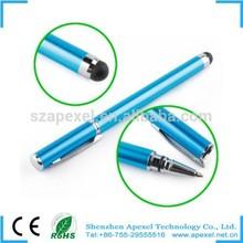 2 in 1 short stylus pen for touching screen