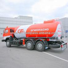 15 CBM Gasoline New Fuel Tanker Truck