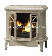 Antique Portable cast iron stove foundry