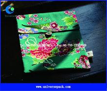 portable greige cotton conference bag handbag