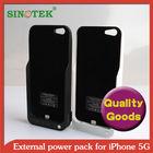 SINOTEK 4200mAh battery hot selling wallet case for iphone 5