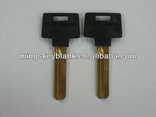 high quality mult key in nickel silver blade with black plastic head key blank