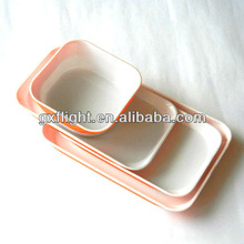 Airline Rotable ABS Meal Dishes