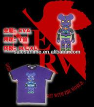 Wholesale hot sale Neon Genesis Evangelion EVA New fashion Anime t-shirt Cotton short-sleeved T-shirt Anime Cosplay Costume