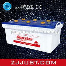 Dry charged Lead-Acid Car battery N225 12V 225AH