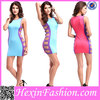 China Hexin Fashion Sexy Boutique Celebrity Wholesale Bandage Dress