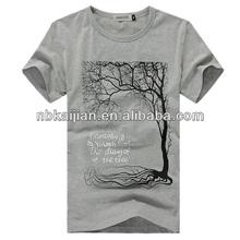 Short sleeve fashion printing t-shirt