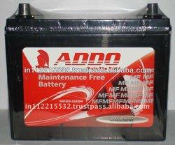 MF Auto Batteries 12v