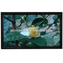 Black velvet ,big size,High Quality fix frame projector screen
