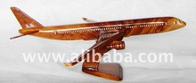 Wooden craft Airbus A310 - Plane models