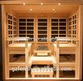 uso comercial grande sauna duche quarto