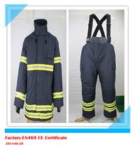 Fire Fighting suit/fire fighting clothing/EN469 fire suit