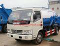 dongfeng mini tanque séptico camiones 3000 xbm litros de vacío de succión de aguas residuales de camiones