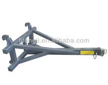 Excavator attachment wheel loader crane jib with 1 inner jib