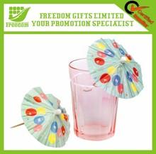 Promotional Logo Branded Custom Cocktail Umbrella