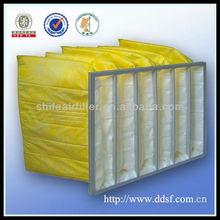 Refinery plant air pocket filter