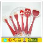 silicone spatula coconut scraper with OEM silkprinting