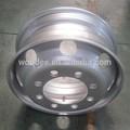 çin tubeless çelik römork tekerlekleri 8.25*22.5