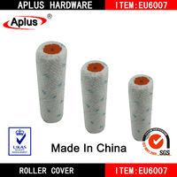 """6"""" blue dot microfiber roller cover"""