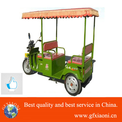 2015 bright color popular India best electric tricycler rickshaw - three wheel