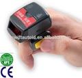 Tiny inalámbrica bluetooth usable gs-r1000bt 1d anillo láser mini escáner de código de barras android ios 8 ganar