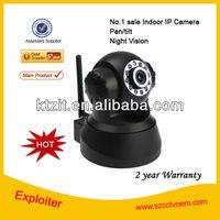 P2P indoor ip camera P/T Wireless wired web cam