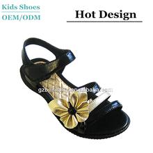 Italian Design Cherry Flat Woman Girls Sandals Summer School Shoes