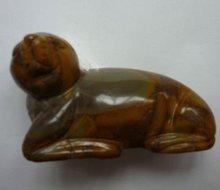 gemstone animal carvings