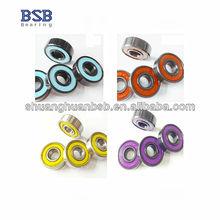 608 hybrid ceramic ball bearing for skateboard ABEC-7/ABEC-9