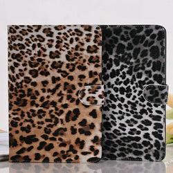 Hot selling high quality fashion leopard leather case for ipad mini,stylish protector cover for ipad mini,unique designed case
