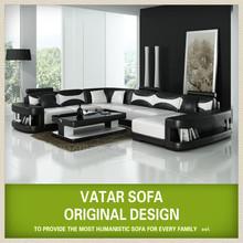 VATAR original design corner sofa top grade leather V001
