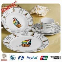 Alibaba Express Italy 20PC Porcelian Chinaware/Wholesale Cheap Dinnerware