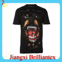 2015 The Most Popular Summer Men Animal Printing T Shirt With 3D