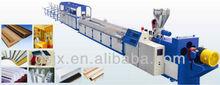 High Efficiency PVC Wood Plastic Profile Production Line