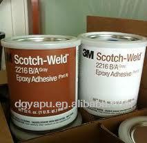 3m B/A Structural Scotch-Weld Epoxy Adhesive Glue 3M 2216 Tape