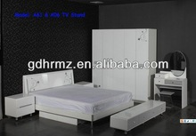 2013 GuangDong Nice white classical bedroom furniture/ikea furniture/antique furniture home designs