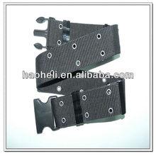 57mm black military trouser belt,men's military canvas belt